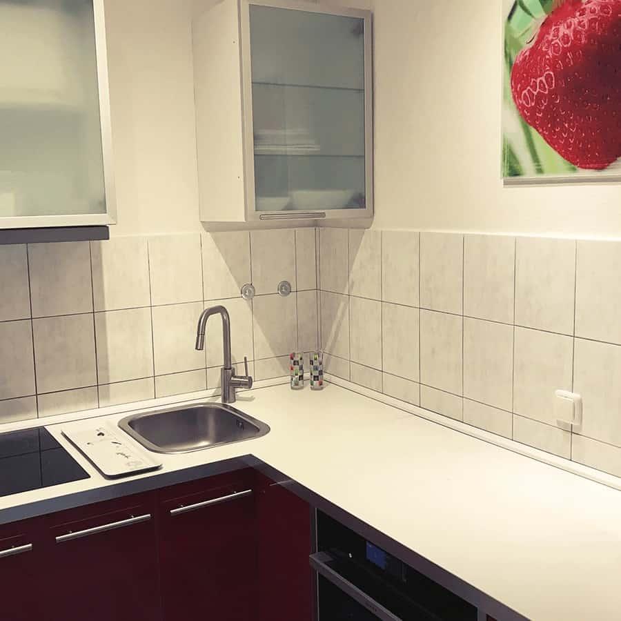 Küchenzeile mit Waschbecken