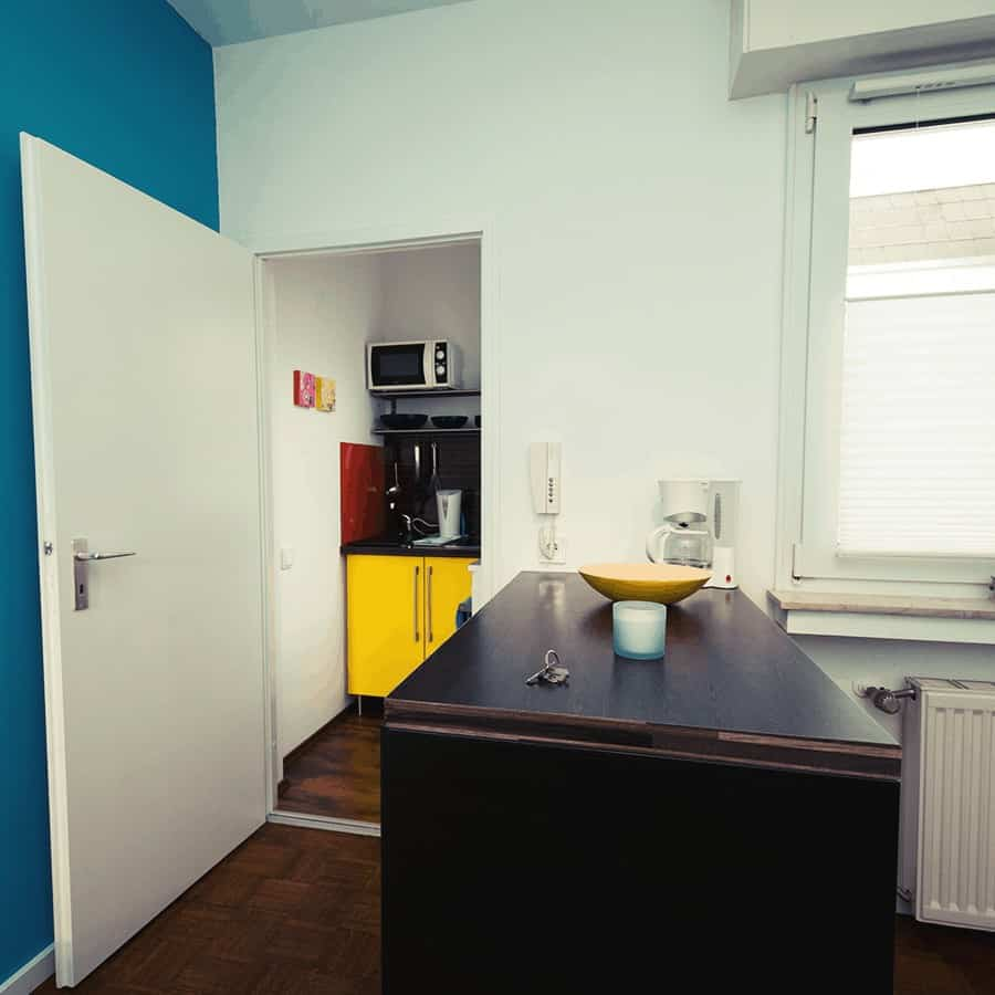 Sicht auf Küchenbereich