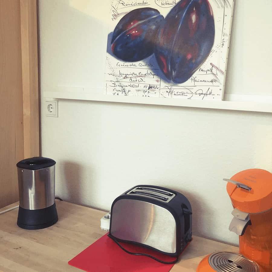 Kaffemaschine, Toaster, Wasserkocher