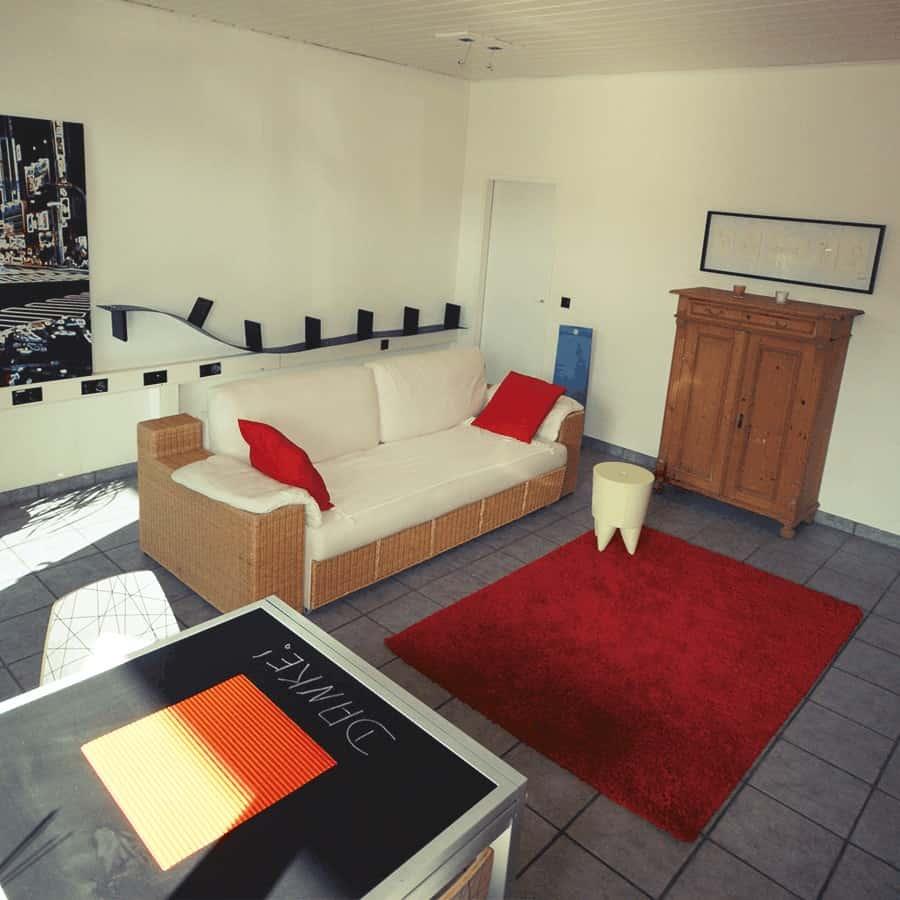 Wohnzimmer R375 blau
